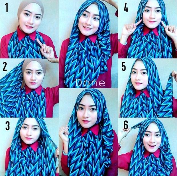 20 Idées Originales de Tutoriels de Hijab Facile à Réaliser