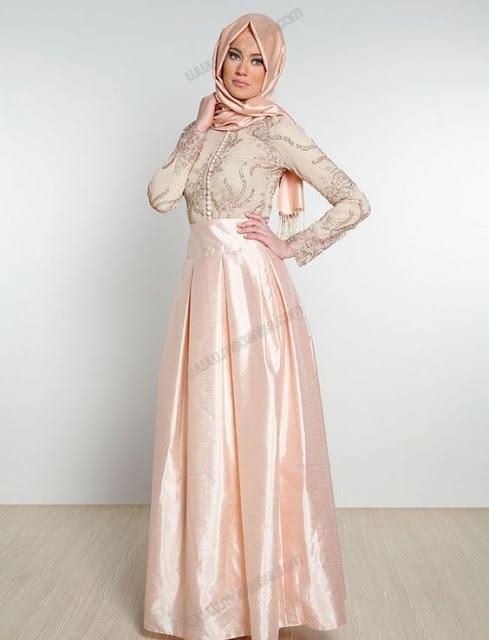 Robes de soirée pour Femme Voilée Tendance 2017